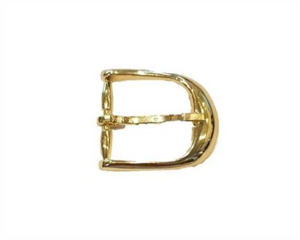 BUCKLE BELT HALF GILT 30MM