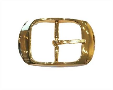 BUCKLE BELT GILT 40MM