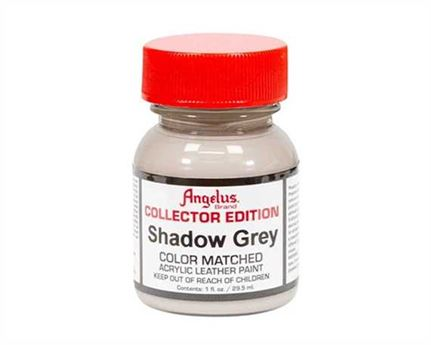 ANGELUS ACRYLIC CE PAINT SHADOW GREY #348 29ML FOR LEATHER, VINYL, FABRIC