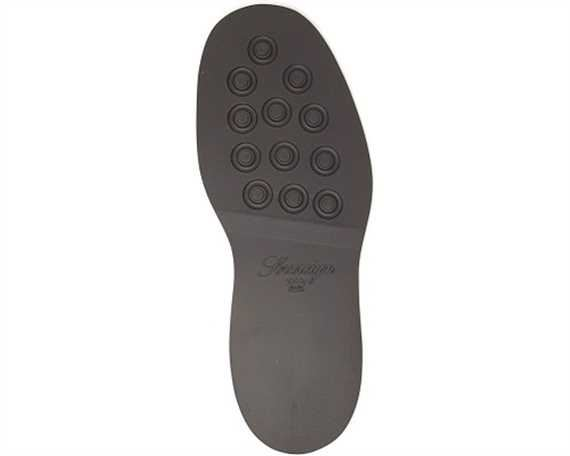 SOVEREIGN STUDDED RUBBER SOLE SIZE 12 BROWN