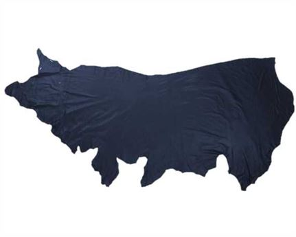 GARMENT LEATHER MILANO SIDES NAVY (SQ FT)