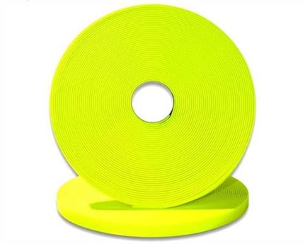 "BIOTHANE STRAPPING BETA STD FLURO LIME (5/8"") 16MM (PER L/FT)"