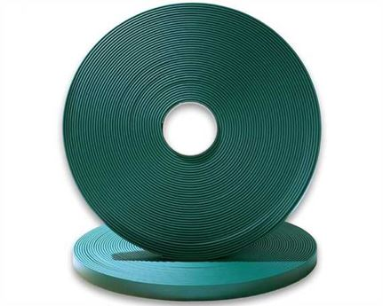 "BIOTHANE STRAPPING BETA STD GREEN (1/2"") 13MM (PER L/FT)"