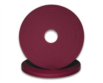 "BIOTHANE STRAPPING BETA STD MAROON (1"") 25MM (PER L/FT)"