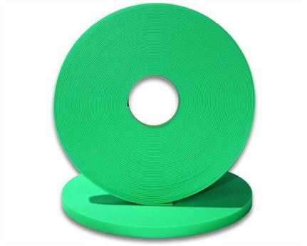 "BIOTHANE STRAPPING BETA STD FLUORO GREEN (5/8"") 16MM (PER L/FT)"