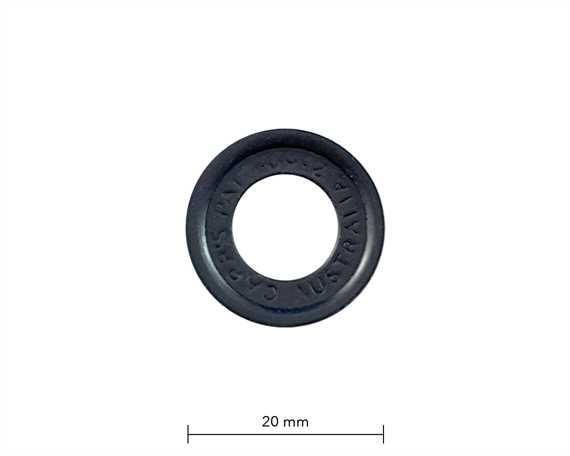 WASHER FOR SP4 EYELET BLACK