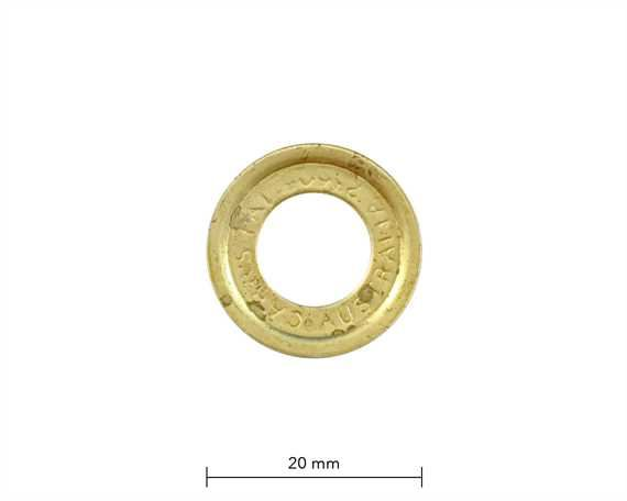 WASHER FOR SP4 EYELET BRASS