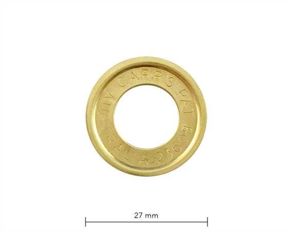WASHER FOR SP7 EYELET BRASS