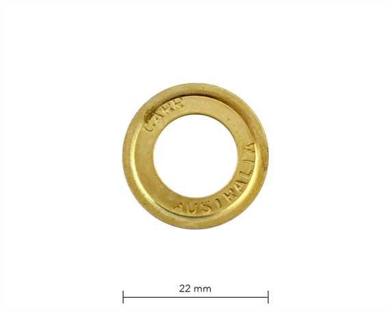 WASHER FOR SP6 EYELET BRASS