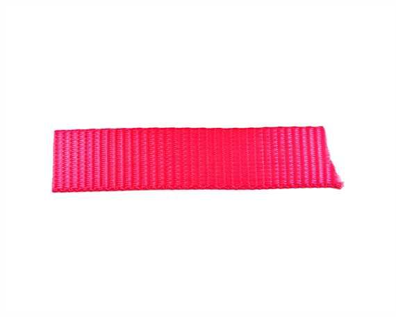 WEBBING POLYESTER PINK 20MM (PER L/MTR)