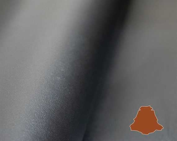 VEG KANGAROO CRAFT BLACK 0.7/0.9MM AUSTRALIAN MADE LEATHER.
