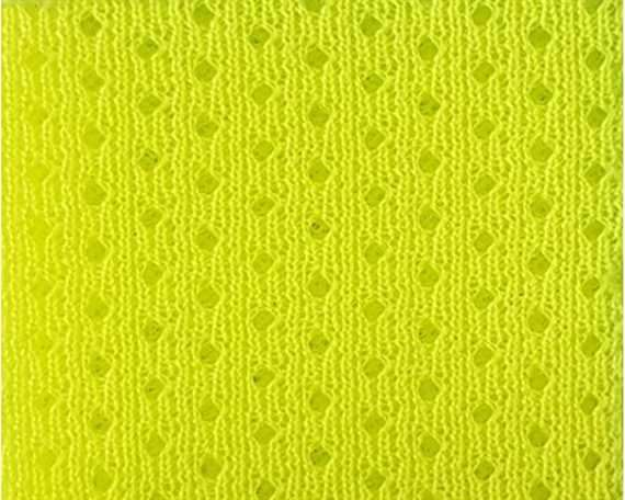 OPTIMAX SNEAKER MESH LINING FLURO YELLOW SIZE 50CM x 50CM