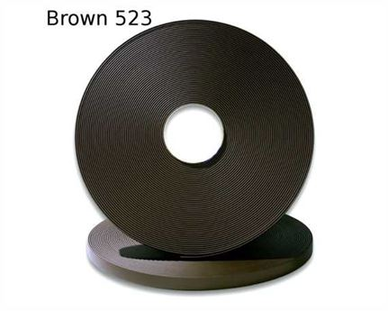 "BIOTHANE STRAPPING BETA STD BROWN BR523 (5/8"") 16MM (PER L/FT)"