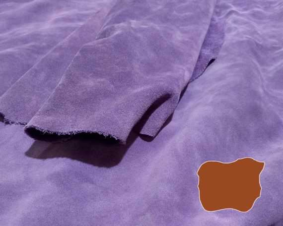 SUEDE SPLIT VIOLET 1.5MM