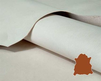 VEG LIGHT WEIGHT 0.9/1.1MM NATURAL GREAT CRAFT LEATHER.