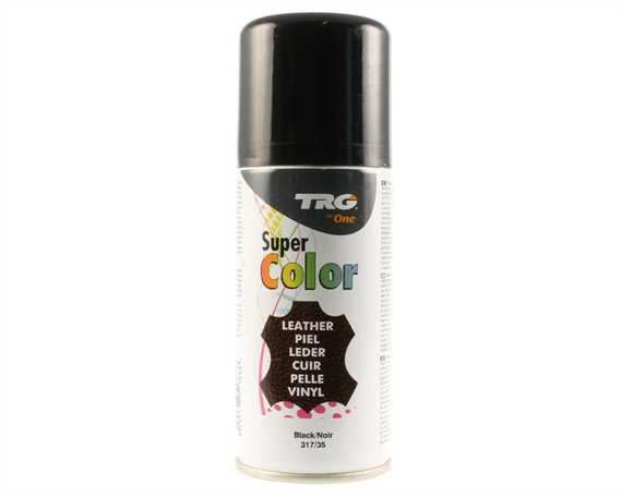 TRG SUPER COLOUR AEROSOL SPRAY 150ML BLACK 317