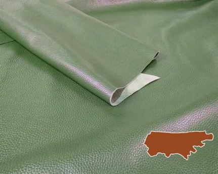BAG/UPPER LEATHER SIDES 1.4/1.6mm LIMITED EDITION BILLIARD GREEN