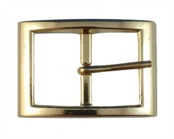 BUCKLE BELT GILT 30MM