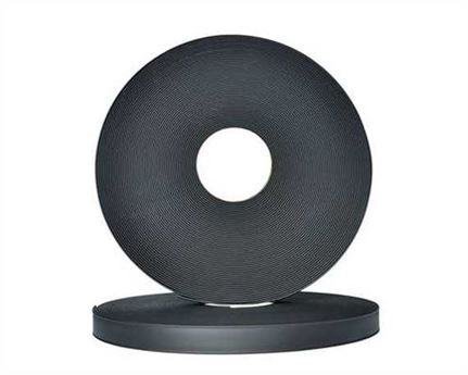 "BETA® 520 ADJUSTABLE BioThane® BLACK BL520 (3/4"") 19MM (PER L/FT)"