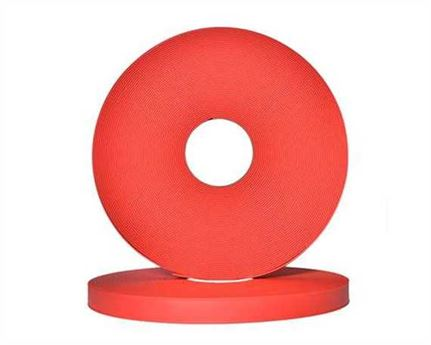 "BETA® 520 ADJUSTABLE BioThane® CHERRY RD522 (1"") 25MM (PER L/FT)"