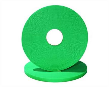 "BETA® 520 ADJUSTABLE BioThane® FLURO GREEN GN528 (1"") 25MM (PER L/FT)"