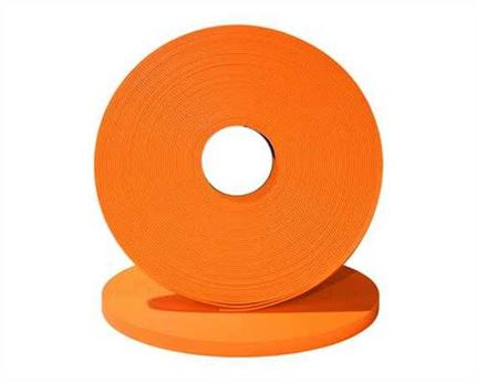 "BETA® 520 ADJUSTABLE BioThane® FLURO ORANGE OR522 (3/4"") 19MM (PER L/FT)"