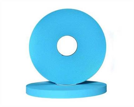 "BETA® 520 ADJUSTABLE BioThane® PASTEL BLUE BU52H (1"") 25MM (PER L/FT)"