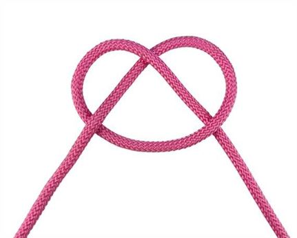 CORD HALTER PINK 6MM