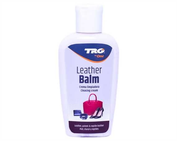 TRG LEATHER BALM 125 ml. # 118 BLACK