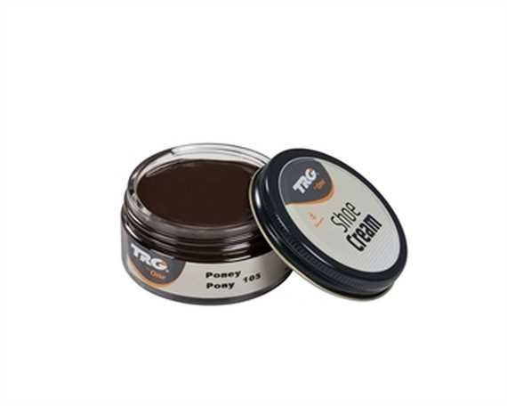 TRG SHOE CREAM JAR 50 ml. # 105 PONY