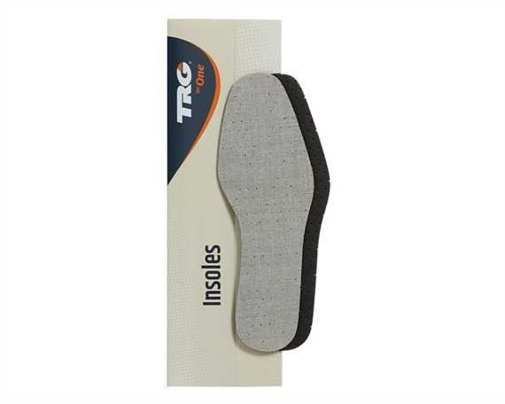 TRG INSOLES DEODORISER ACTIVATED CHARCOAL LATEX FOAM SIZE 44